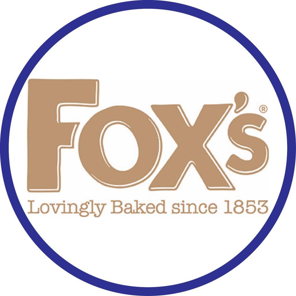 Fox's Lovingly Baked Since 1853 Logo